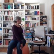 Homeoffice Yoga